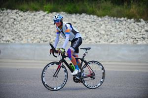 Race Across America — Pierre Bischoff Arrives