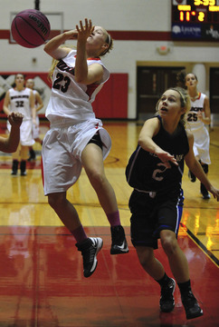Hermann Shares Four Rivers Conference Girls Title