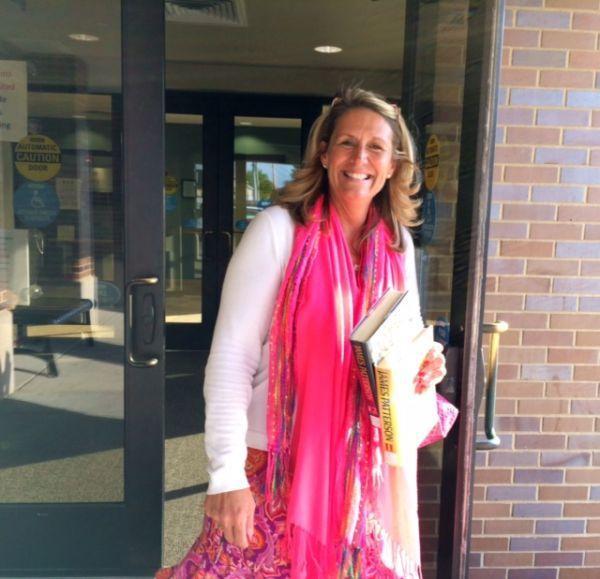 Jane Mense at Washington Public Library