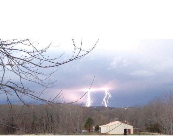 Lightning Off St. John's Road