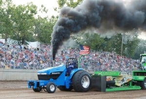 Full Throttle at the Tractor Pull