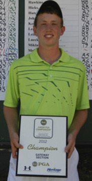 Carpenter Wins Section Qualifier, Earns Spot in Junior PGA Tourney
