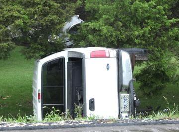 Truck Involved in 080213 HWY 100 Crash