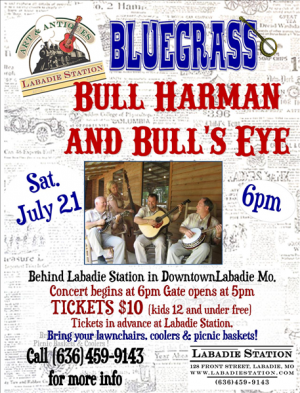 Bull Harman Poster July 21