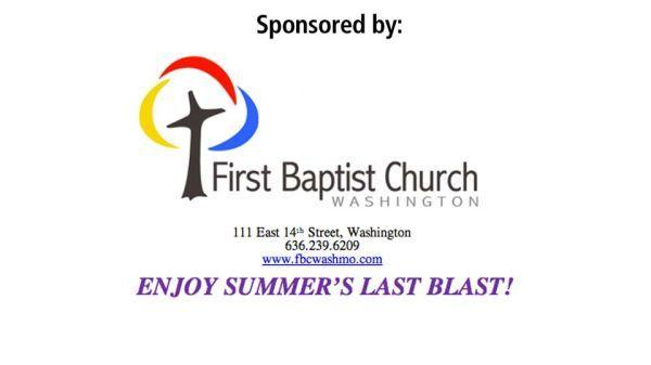 First Baptist Church Sponsorship