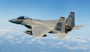 Pilot's Fate Unknown in U.S. Fighter Jet Crash