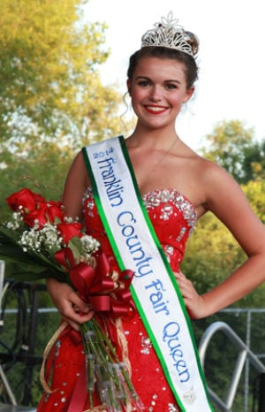 Elizabeth Birkmann Crowned Franklin County Fair Queen