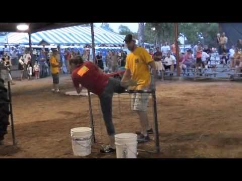 Super Farmer Contest at 2014 Washmo Fair