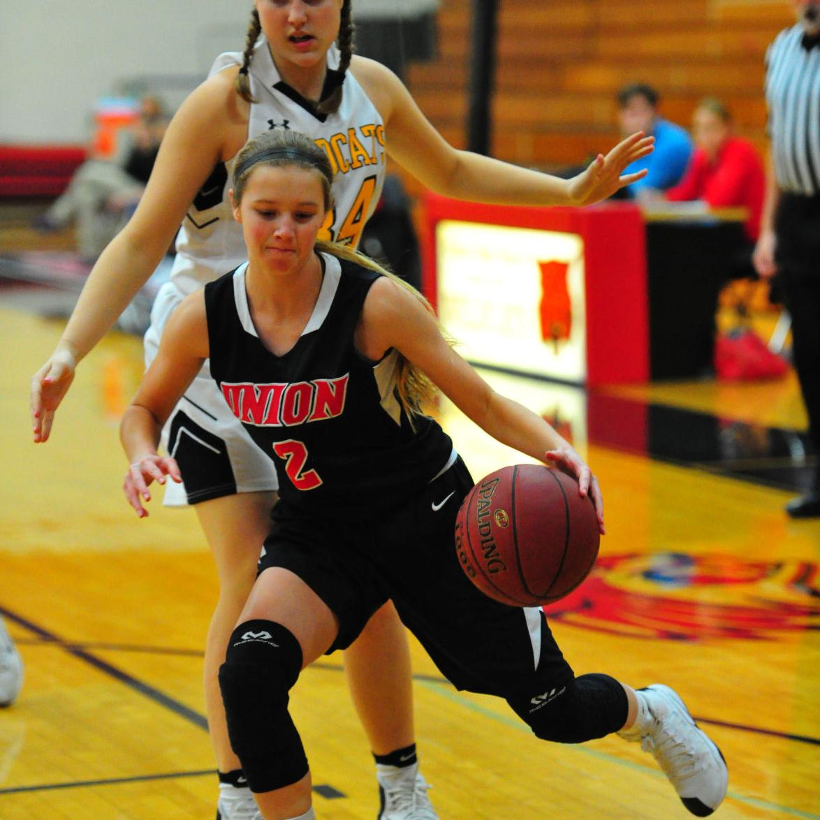 Girls Basketball — Union vs. Cuba, Union Tournament