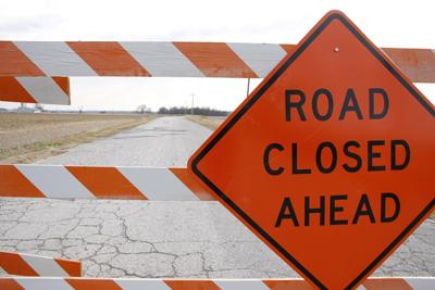 Augusta Bottom Road Closed