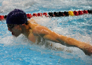 Matthews Swims to Eighth