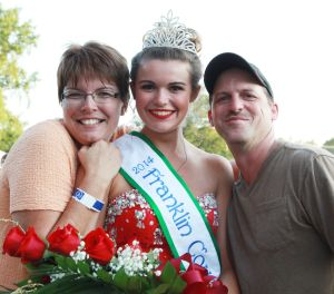 Birkmann Crowned Franklin County Fair Queen