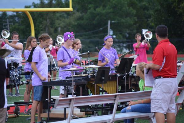 001 UHS Band practice 2014.jpg