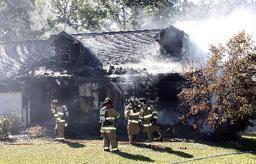 Blaze Rips Through Home