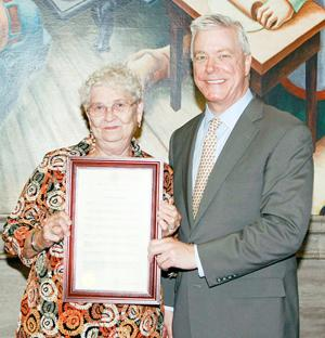 Award for Vera Buscher