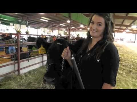 Meet Stephanie Gerling and her Grand Champion Steer