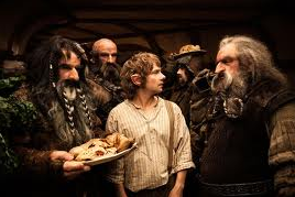 Movie still from 'The Hobbit'