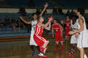 Boys Basketball — St. Clair vs Bayless,  Washington Tournament
