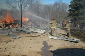 St. Clair Firefighters Work Scene