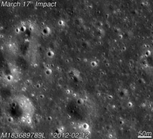 Space Crater Image February 2012