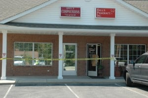 Hall's Pharmacy Robbed