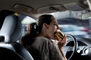 Eating During Your Commute