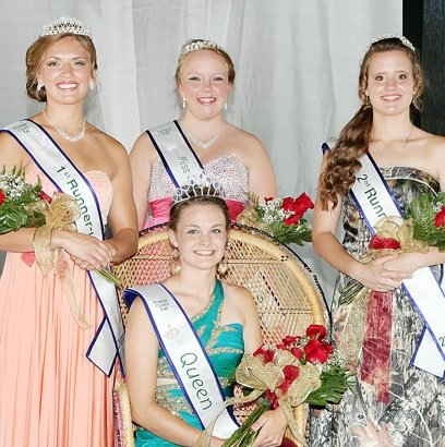 Franklin County Fair Queen, Court