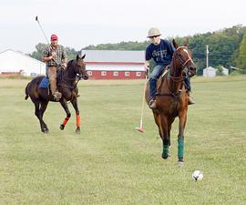 Learning Polo in Catawissa