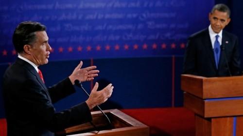 Romney, Obama Debate