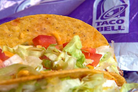 Taco Bell crunchy taco