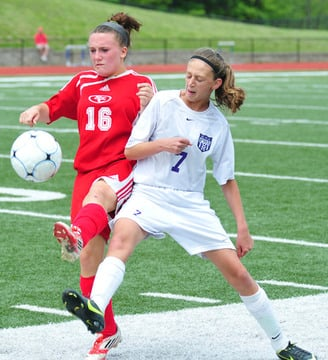 Lady Indians Shut Out St. Clair