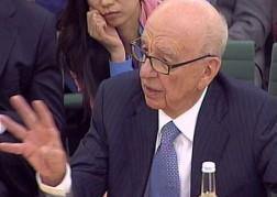 Rupert Murdoch in court
