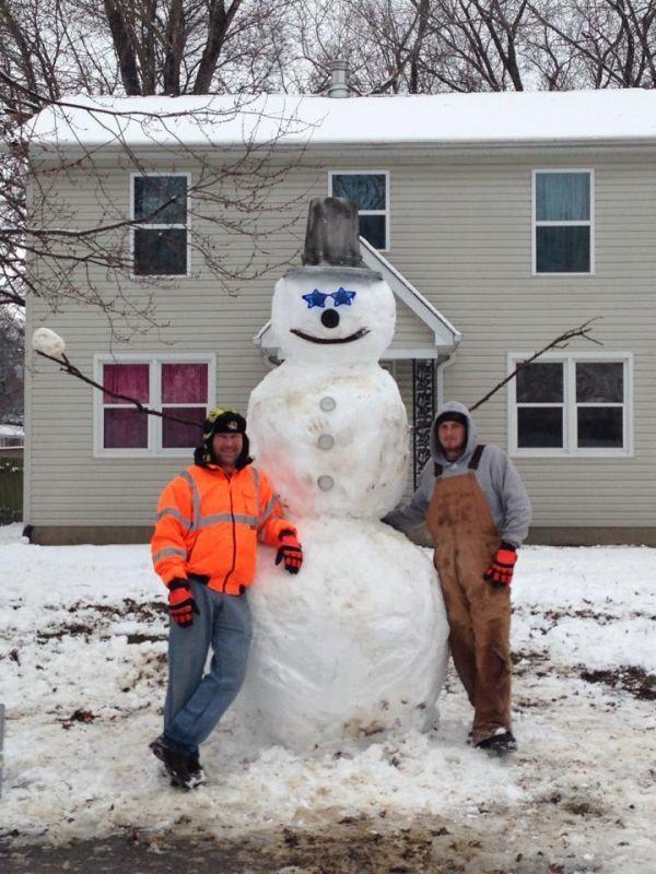 10' Tall Snowman