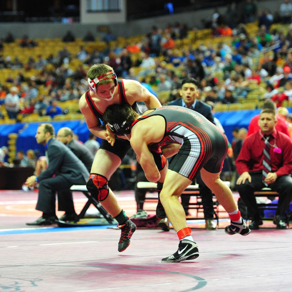 Wrestling — State Tournament Gallery 4
