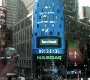 NYC Billboard day of Facebook IPO