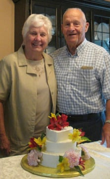 Wells 65th Wedding Anniversary