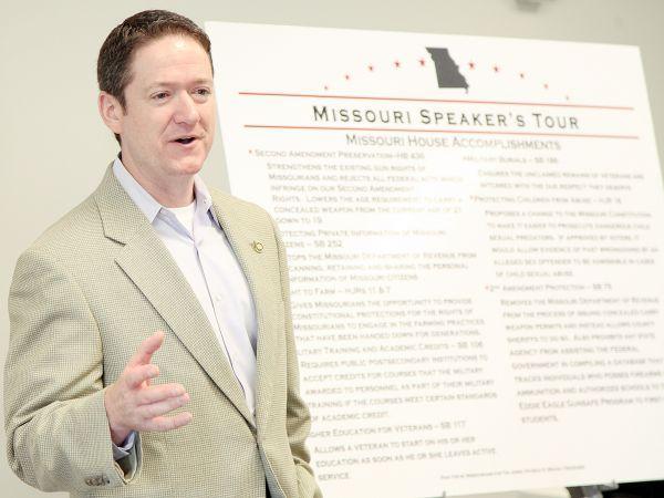 Missouri House Speaker Tim Jones