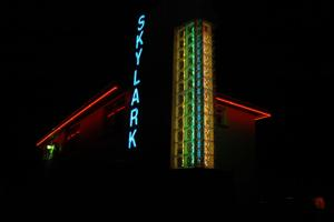 St. Clair's Old Skylark Motel Neon Sign Returns