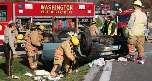 Highway A Accident Sunday Nov 4