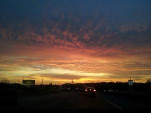 Sunrise on March 21