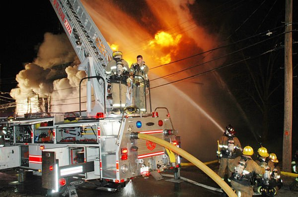 St. Clair Historical Museum Fire