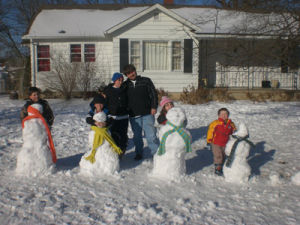 Family of Snowmen