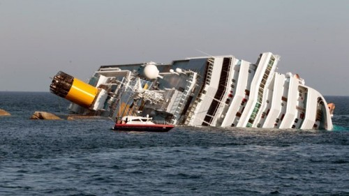 Italy Cruise Ship Capsizes