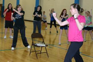 WHS Aerobics Class