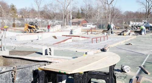 Washington Skate Park Layout