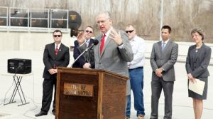 Gov. Nixon Makes a Point