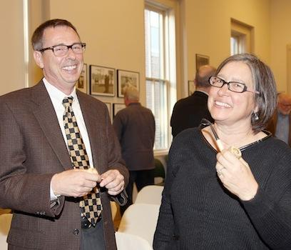 Inductees Share a Laugh