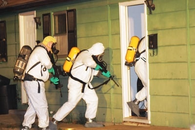 Police Raid Meth Lab