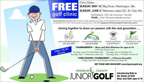 <p>FREE Golf Clinic, S...