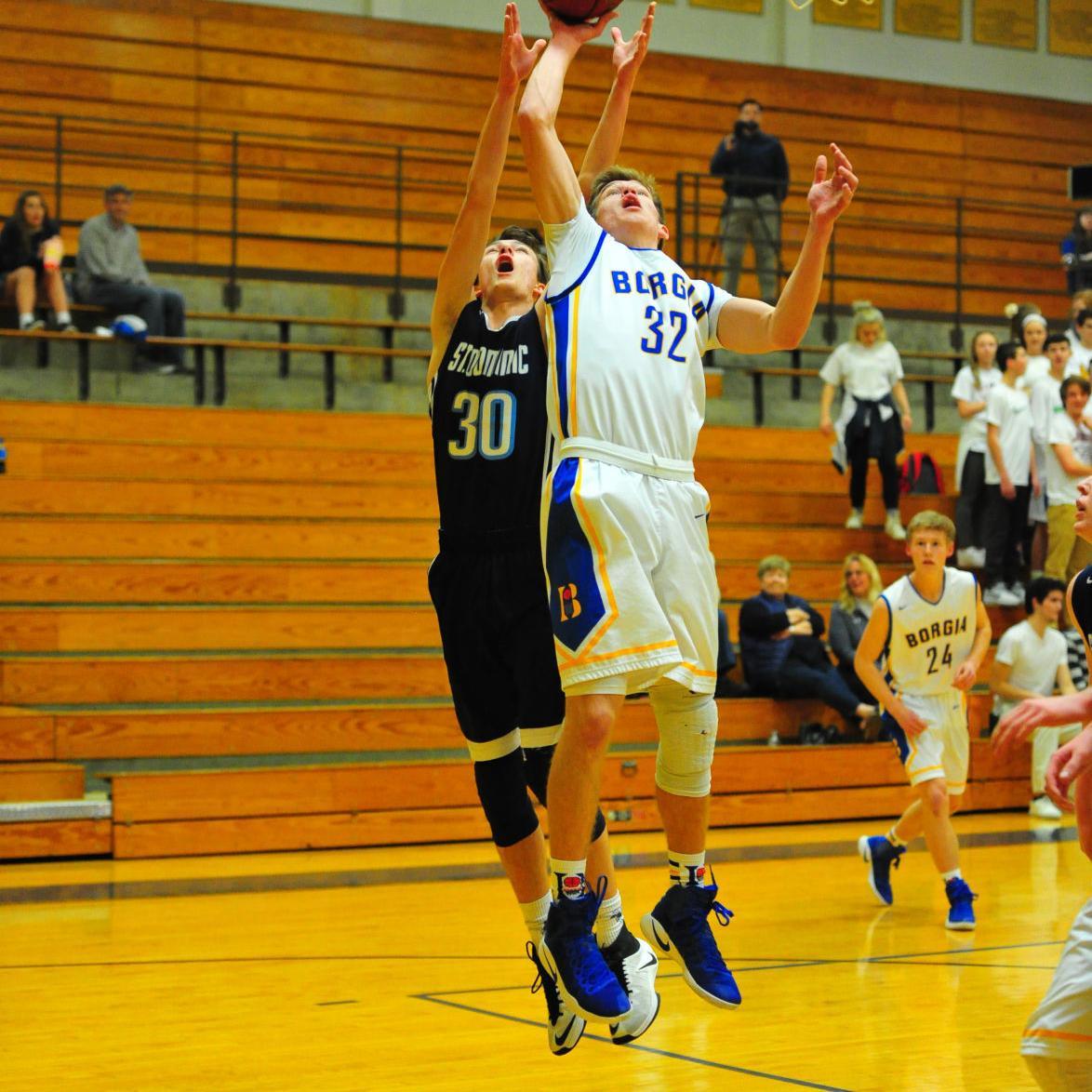 Boys Basketball — Borgia vs. St. Dominic